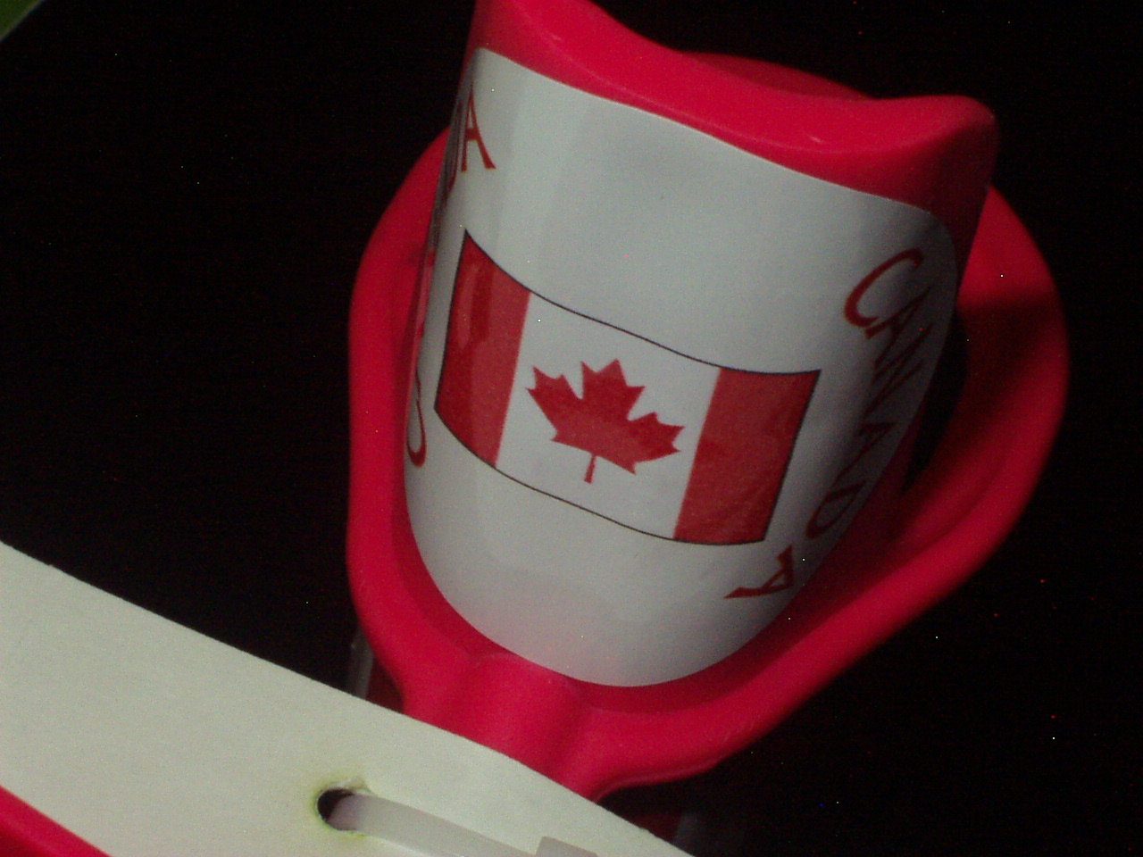 Team Canada Sticker-Head piece flag