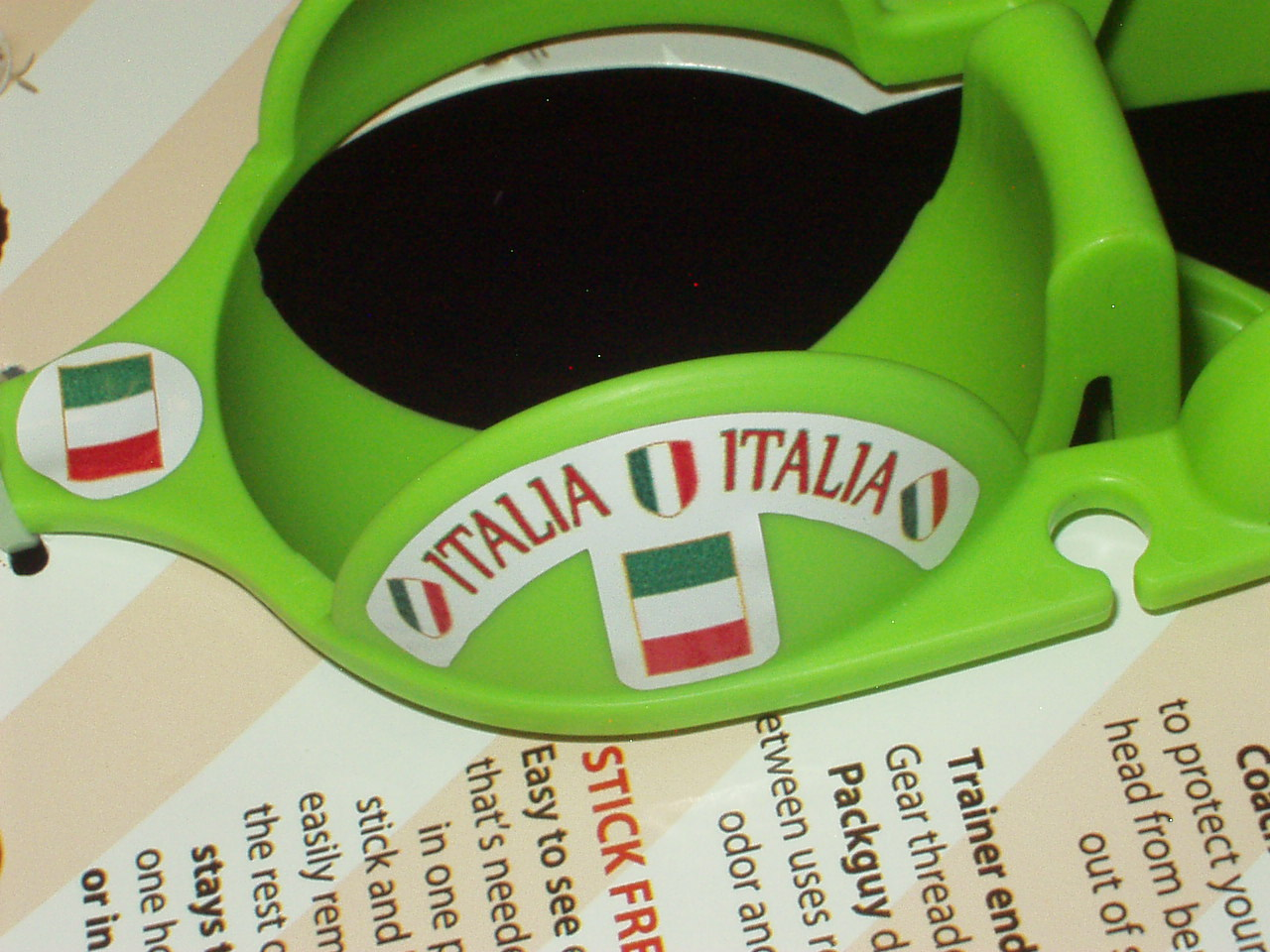 Team Italia Sticker-Ball Holder