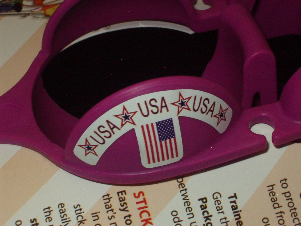 Team USA Sticker-Ball Holder