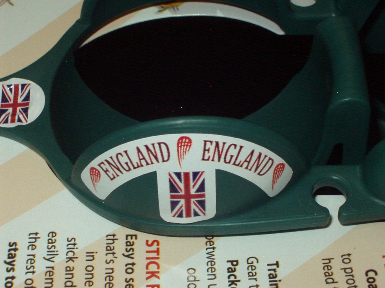 Team England Sticker-Ball Holder